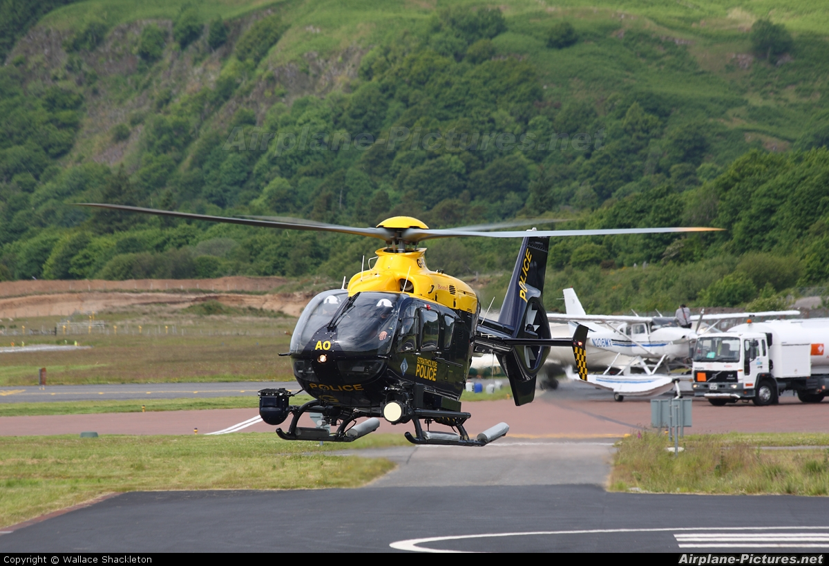 UK - Police Services G-SPAO aircraft at Oban