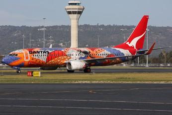 VH-VXB - QANTAS Boeing 737-800