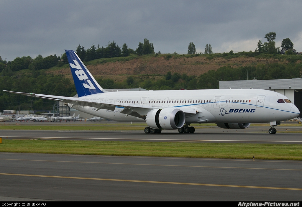 Boeing Company N787FT aircraft at Seattle - Boeing Field / King County Int