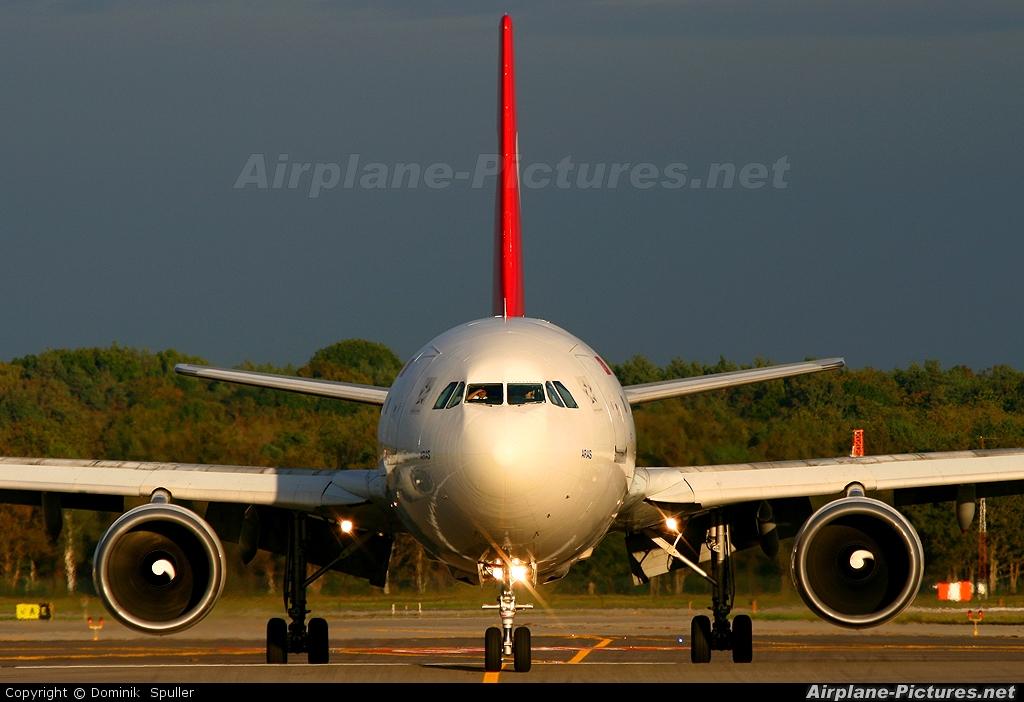 Turkish Cargo TC-JCV aircraft at Milan - Malpensa