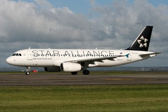 ZK-OJH - Air New Zealand Airbus A320