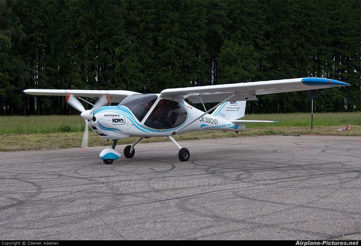 Private OK-DUO-01 aircraft at Nová Cerekev u Pelhřimova