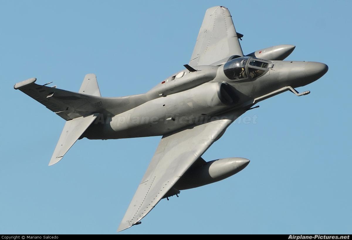 Argentina - Air Force C-907 aircraft at Morón