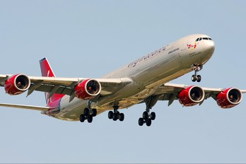 G-VNAP - Virgin Atlantic Airbus A340-600