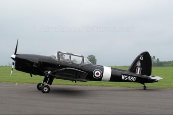 "WG486 - Royal Air Force ""Battle of Britain Memorial Flight&quot de Havilland Canada DHC-1 Chipmunk"