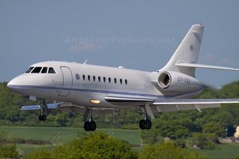 OY-CKI - Air Alsie Dassault Falcon 2000 DX, EX