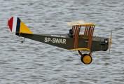 "SP-SWAR - Private Curtiss JN-4 ""Jenny"" aircraft"