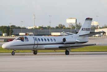 N316QS - Private Cessna 560 Citation Ultra