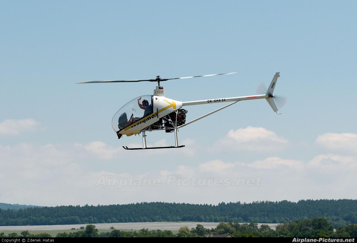 Mamba Air OK-GHA 04 aircraft at Bohuňovice