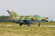 114 - Bulgaria - Air Force Mikoyan-Gurevich MiG-21bis aircraft