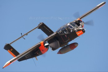 F-AZKM - Musee Europeen de l'Aviation de Chasse North American OV-10 Bronco