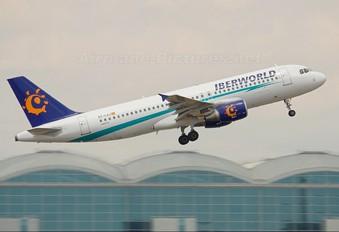 EC-LAJ - Iberworld Airbus A320