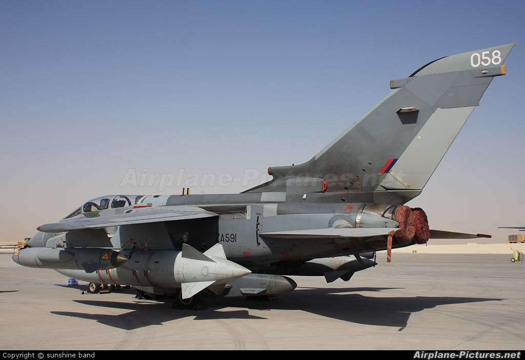 Royal Air Force ZA591 aircraft at Al Udeid