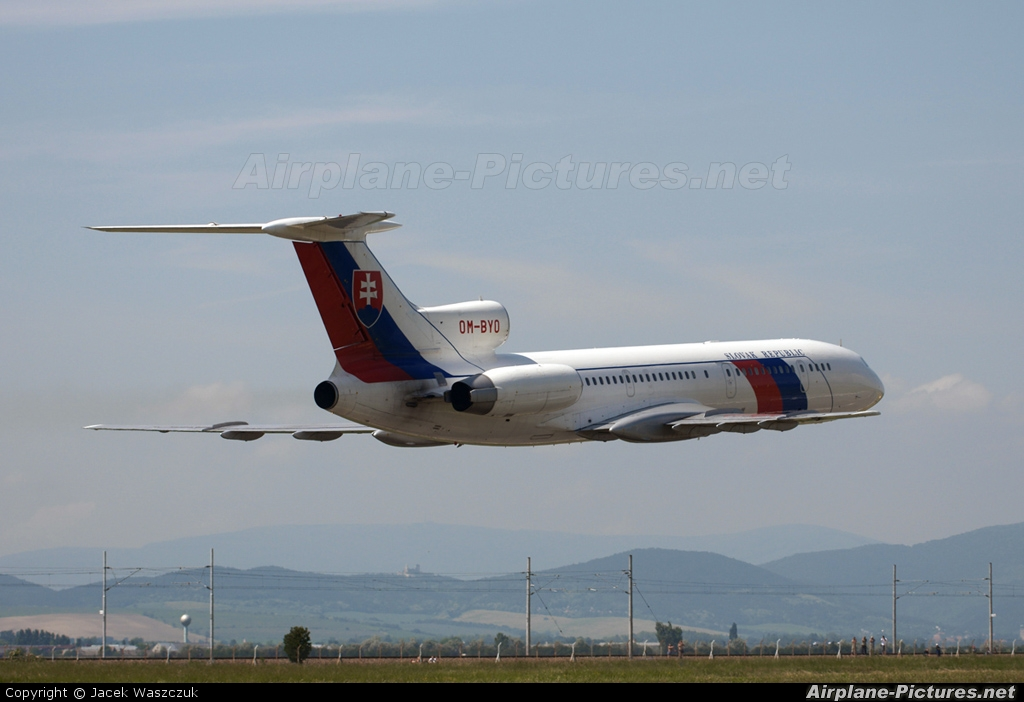 Slovakia - Government OM-BYO aircraft at Piestany