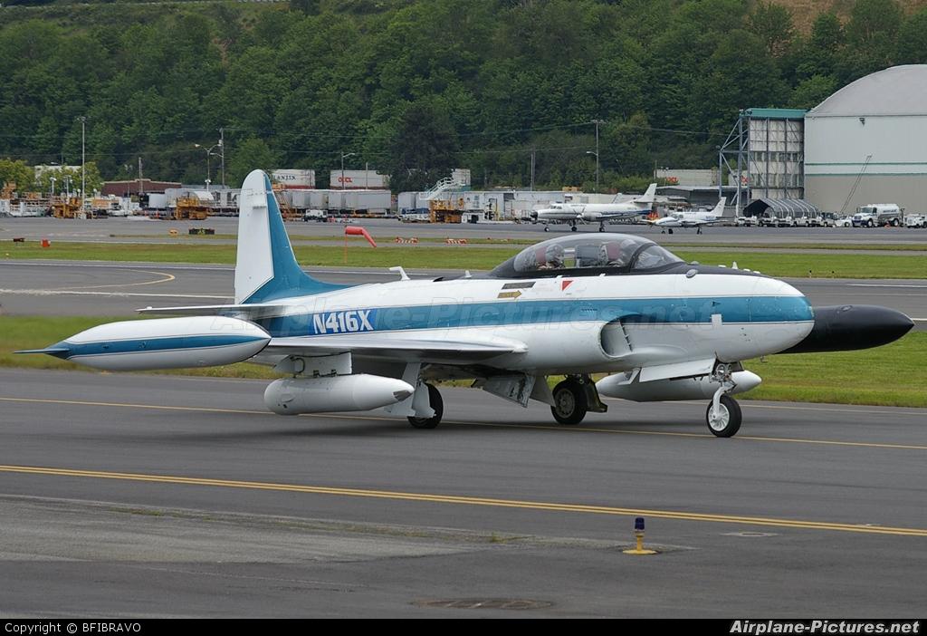 N416X - Boeing Company Lockheed T-33A Shooting Star at
