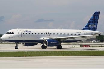 N585JB - JetBlue Airways Airbus A320