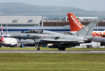 ZJ805 - Royal Air Force Eurofighter Typhoon T.1