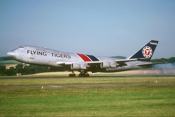 N816FT - Flying Tigers Boeing 747-200F