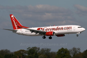 TC-TJH - Corendon Airlines Boeing 737-800
