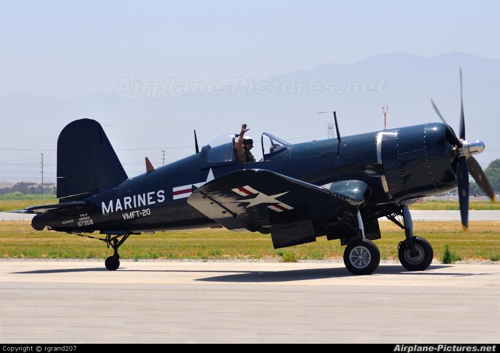 Private NX240CF aircraft at Chino