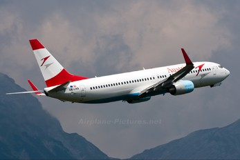 OE-LNS - Austrian Airlines/Arrows/Tyrolean Boeing 737-800