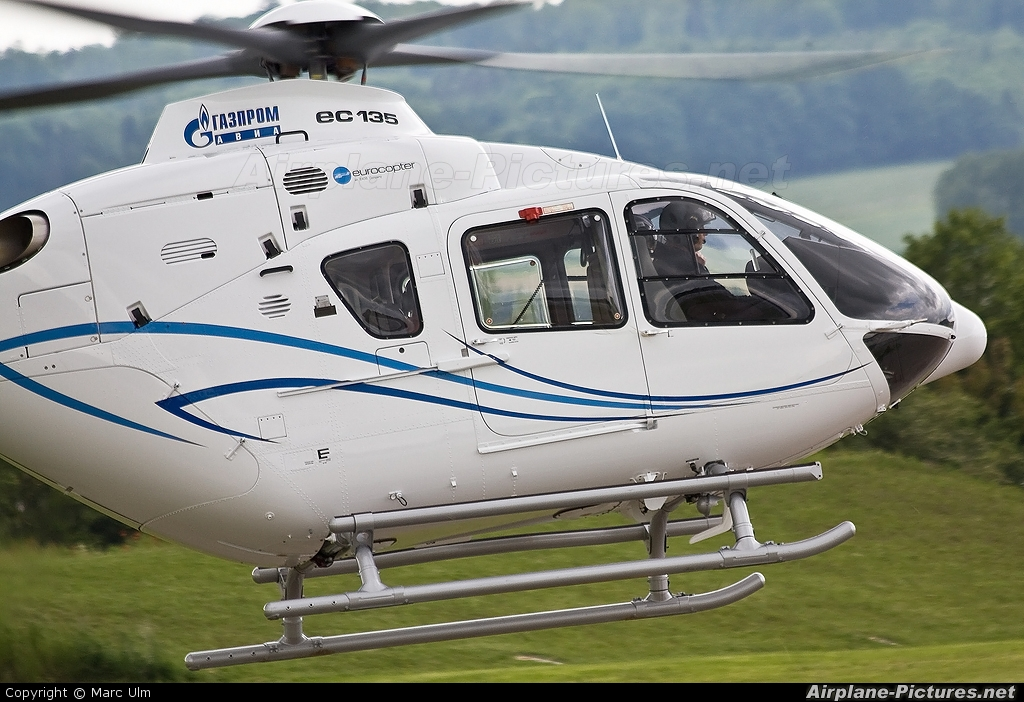 Gazprom  D-HCBX aircraft at Donauwörth - Eurocopter Heliport