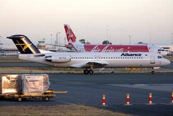 VH-FKA - Alliance Airlines Fokker 100