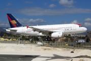 N520TA - TACA Airbus A319 aircraft