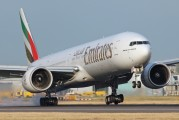 A6-EBO - Emirates Airlines Boeing 777-300ER aircraft