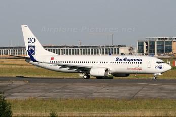 TC-SNM - SunExpress Boeing 737-800