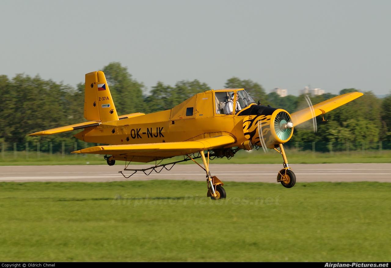 Air Special OK-NJK aircraft at Pardubice