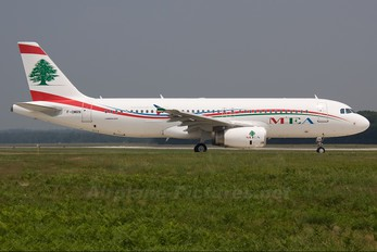 F-OMRN - MEA - Middle East Airlines Airbus A320