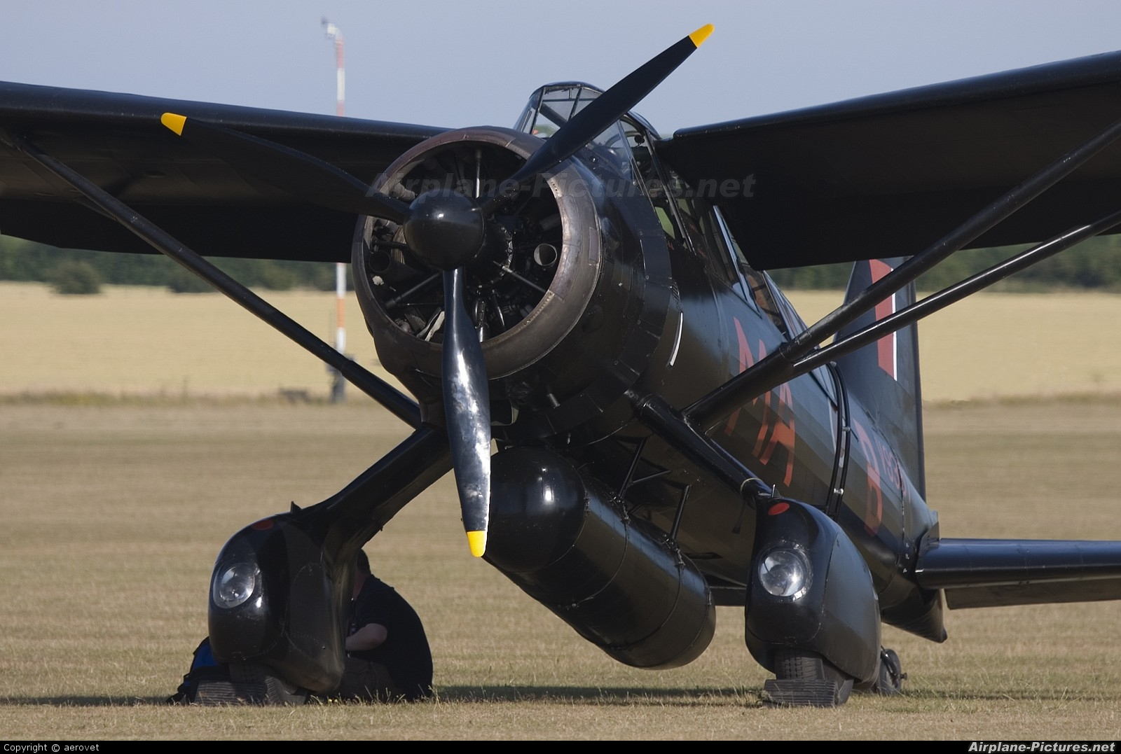 The Shuttleworth Collection G-AZWT aircraft at Duxford