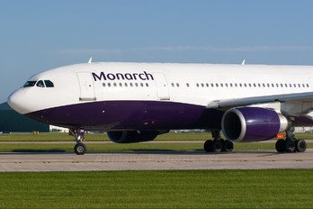 G-MONR - Monarch Airlines Airbus A300