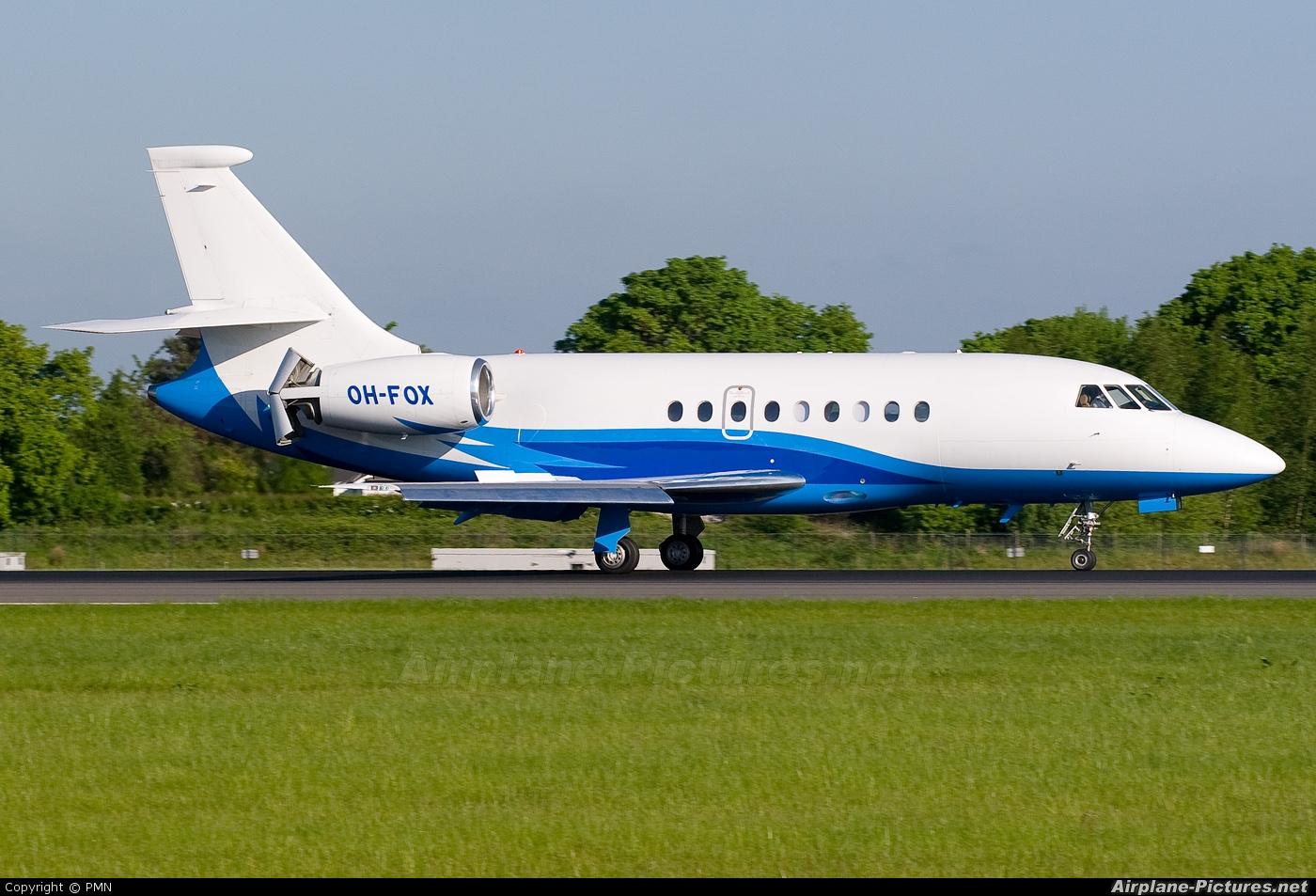 Airfix Aviation OH-FOX aircraft at Manchester