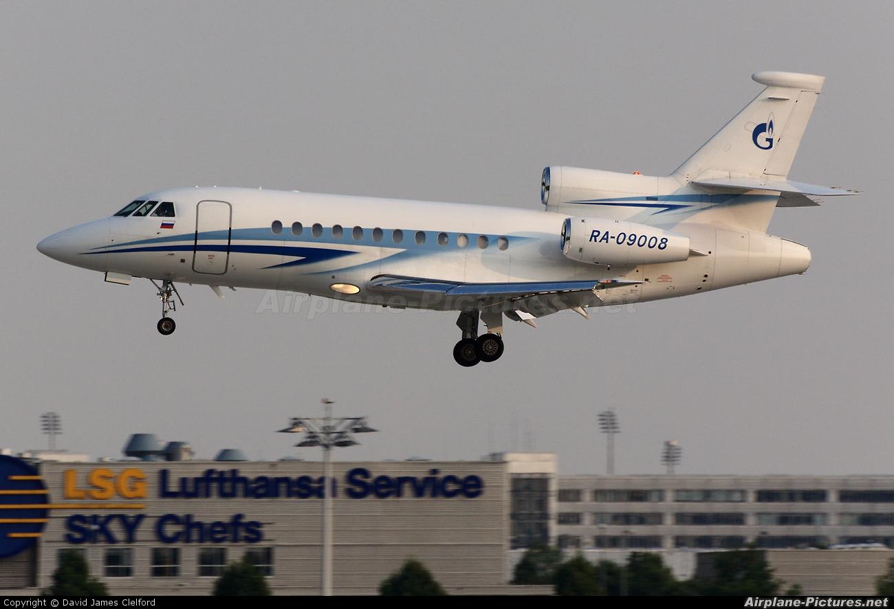 Gazpromavia RA-09008 aircraft at Munich