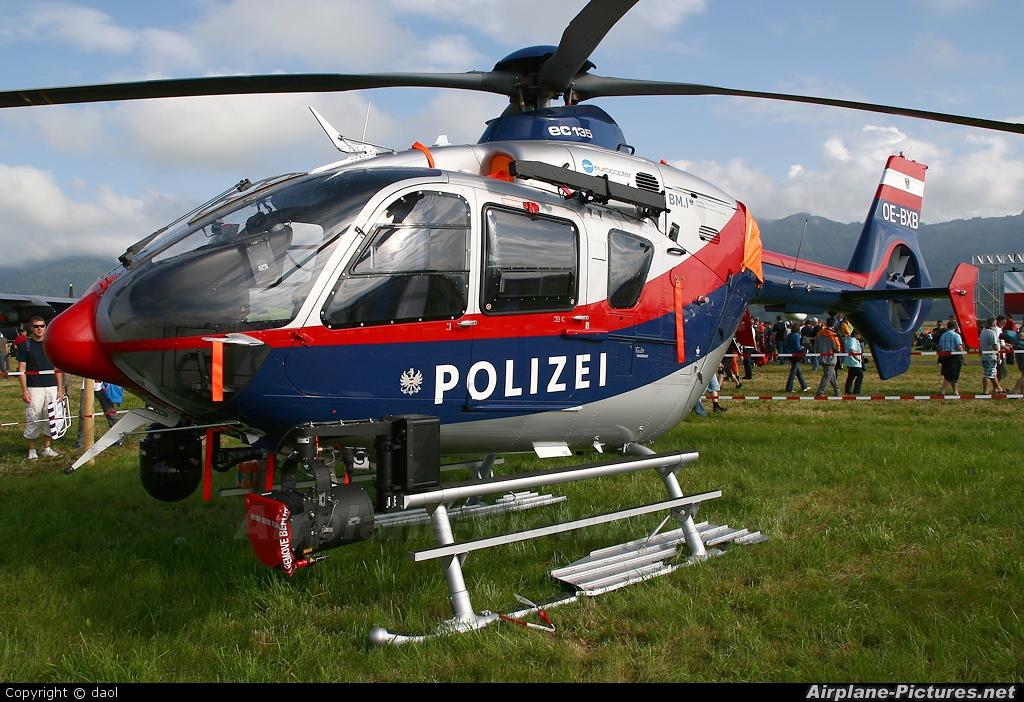 Austria - Police OE-BXB aircraft at Zeltweg