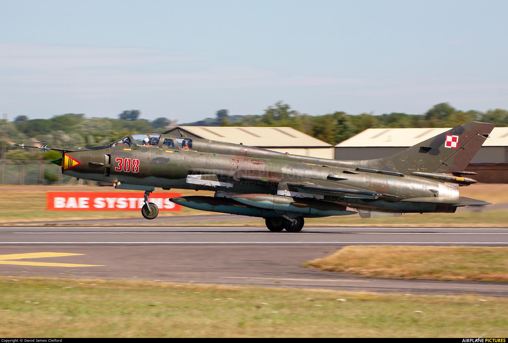 Poland - Air Force 308 aircraft at Fairford