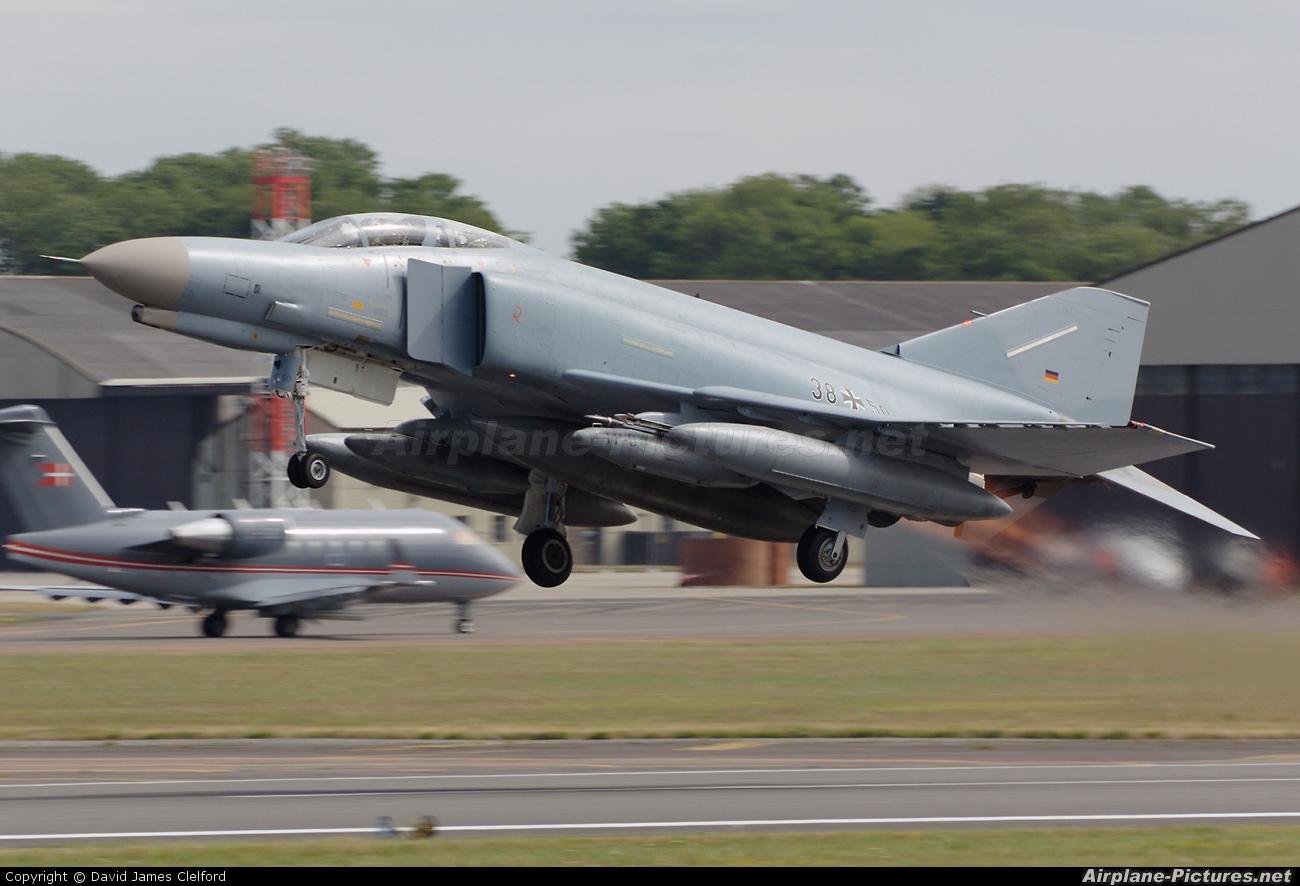Germany - Air Force 38+50 aircraft at Fairford