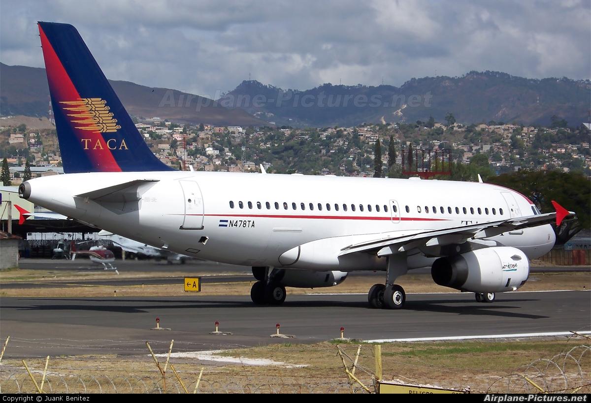 TACA N478TA aircraft at Tegucigalpa - Toncontin