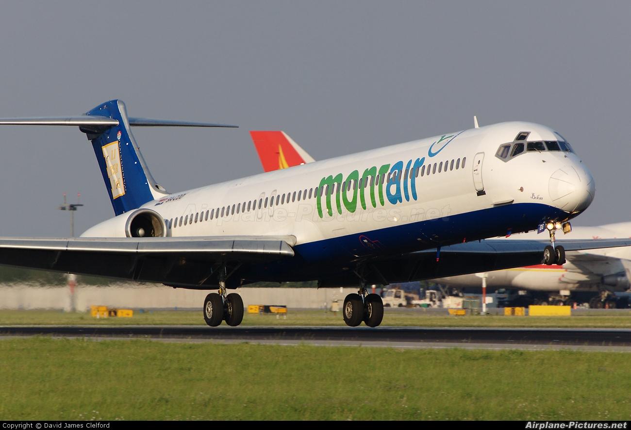 Mont Air 9A-CDD aircraft at Prague - Václav Havel