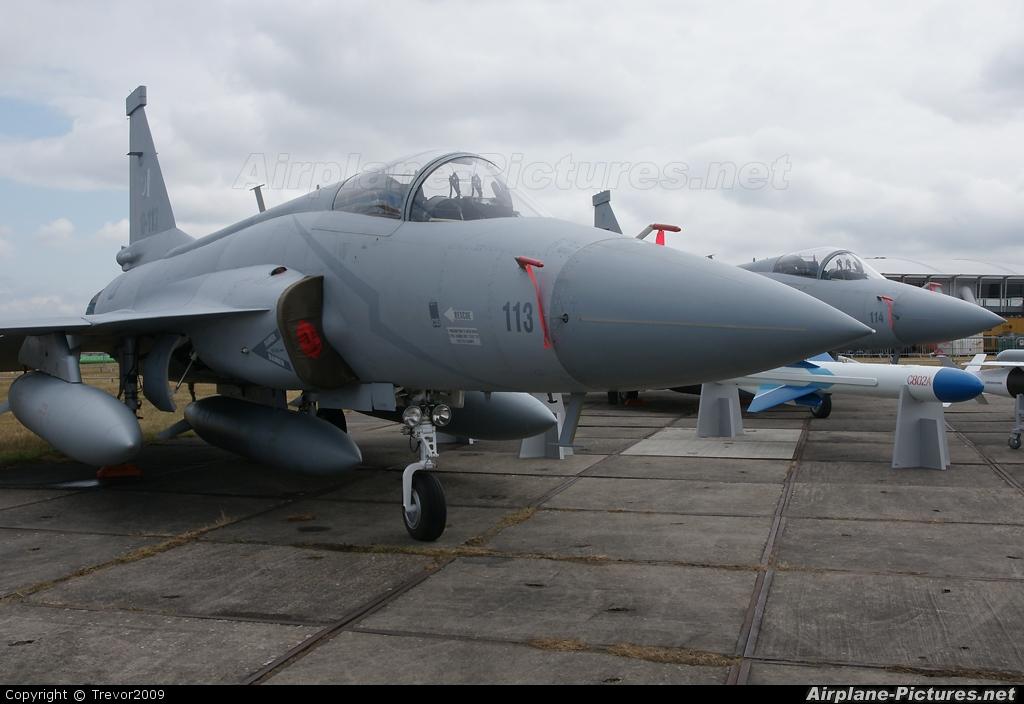 Pakistan - Air Force 10-113 aircraft at Farnborough