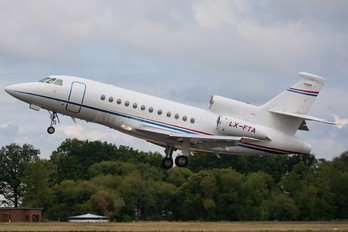 LX-FTA - Private Dassault Falcon 900 series