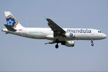 PK-RMC - Mandala Airlines Airbus A320