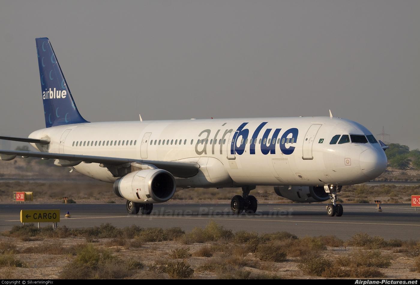 Air Blue Ap Bja Aircraft At Sharjah Intl