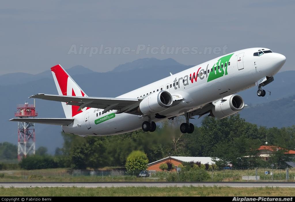 Trawel Fly (Astraeus) EI-ELY aircraft at Bergamo - Orio al Serio