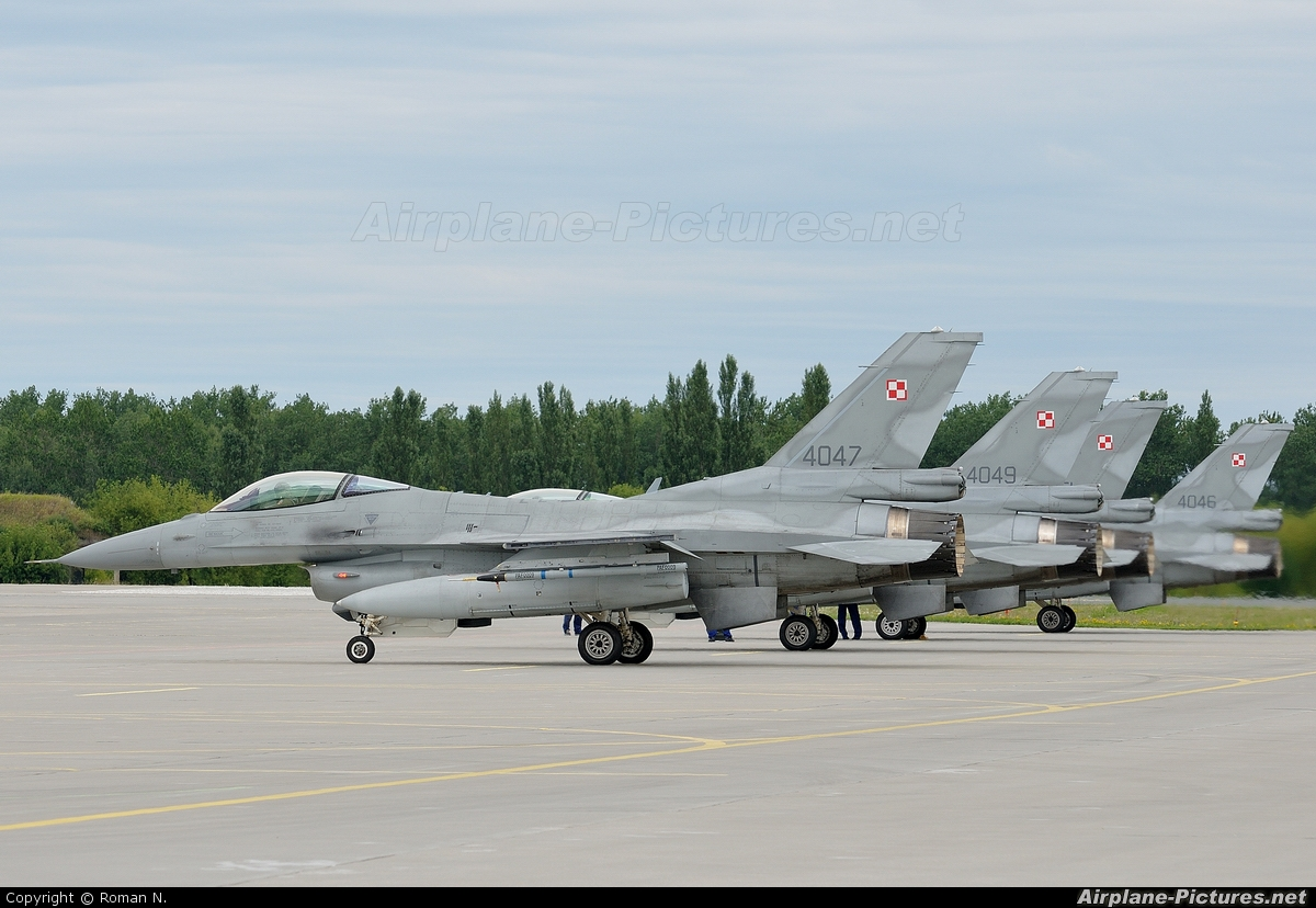 Poland - Air Force 4047 aircraft at Poznań - Krzesiny
