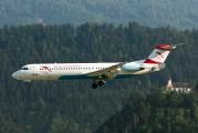 OE-LVB - Austrian Airlines/Arrows/Tyrolean Fokker 100 aircraft