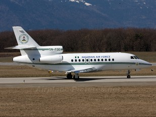 5N-FGE - Nigeria - Air Force Dassault Falcon 900 series