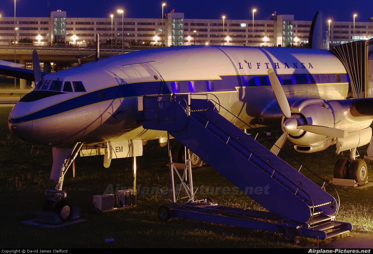 Lufthansa D-ALEM aircraft at Munich